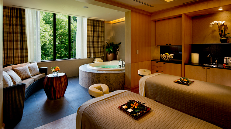 the umstead hotel and spa treatment room