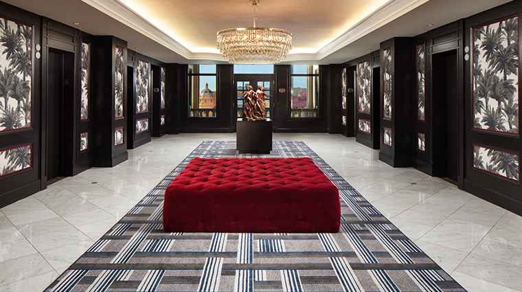the us grant a luxury collection hotel elevator landing
