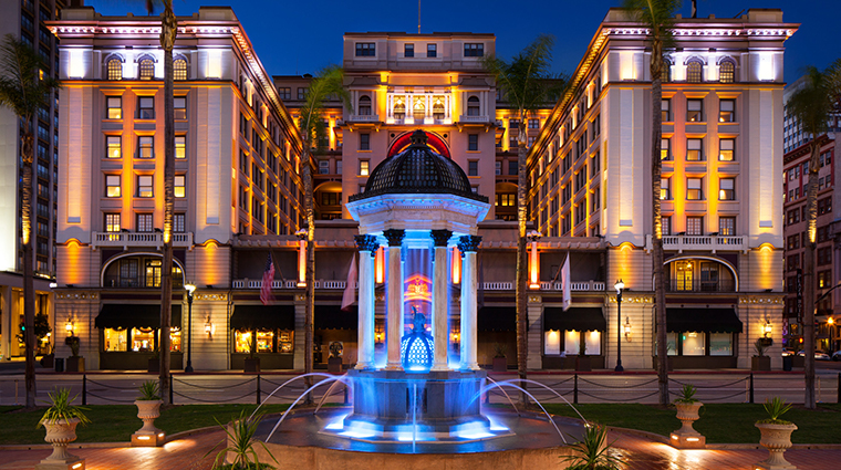 the us grant a luxury collection hotel exterior night