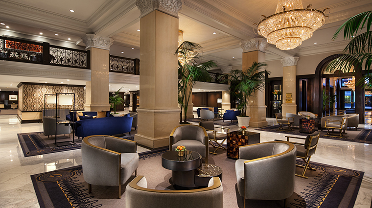 the us grant a luxury collection hotel lobby