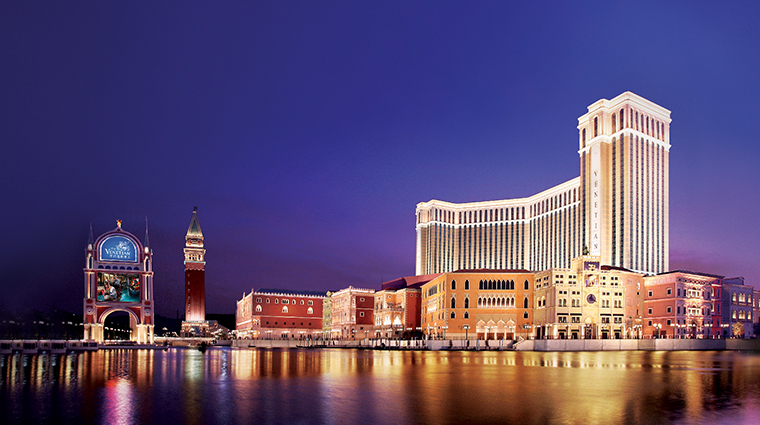 the venetian macao resort hotel facade