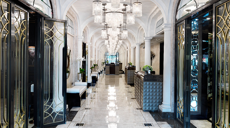 the wellesley knightsbridge a luxury collection hotel lobby