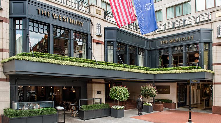 the westbury hotel exterior