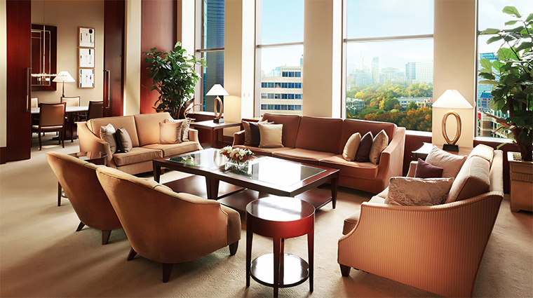 the westin chosun seoul presidential suite living room