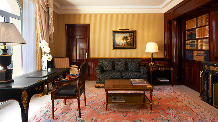 the westin palace madrid Royal Suite Library