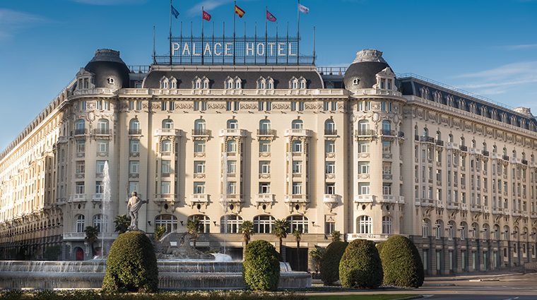 the westin palace madrid exterior