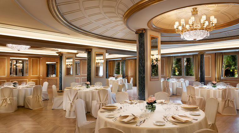 the westin palace milan banquet hall