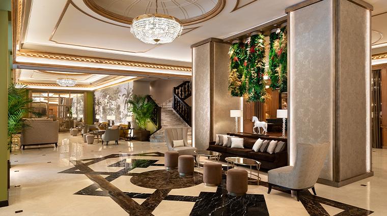 the westin palace milan lobby