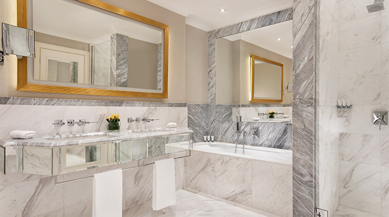 the westin palace milan marble bathroom
