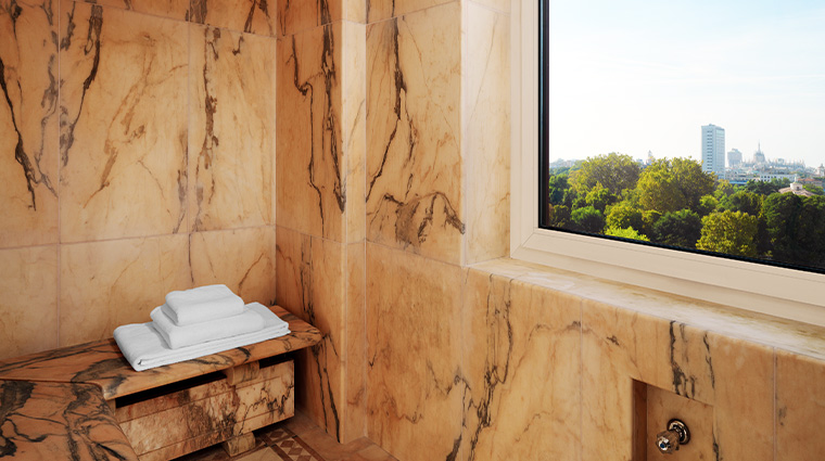 the westin palace milan suite private steambath