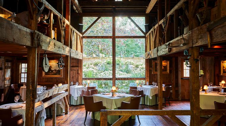 the white barn inn restaurant main dining