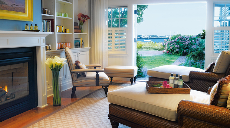 white elephant spa serenity room