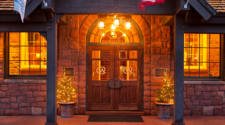the wort hotel entrance