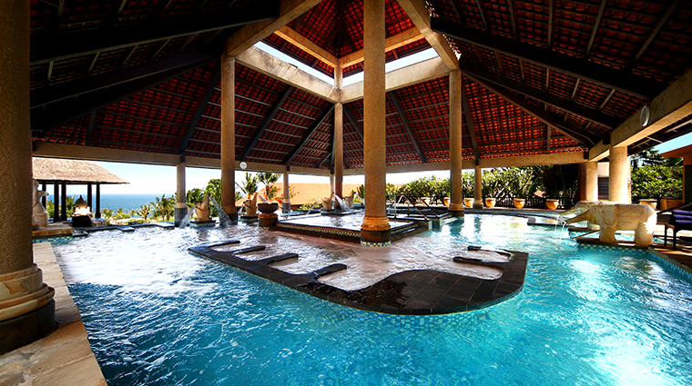 thermes marins bali aquatonic pool