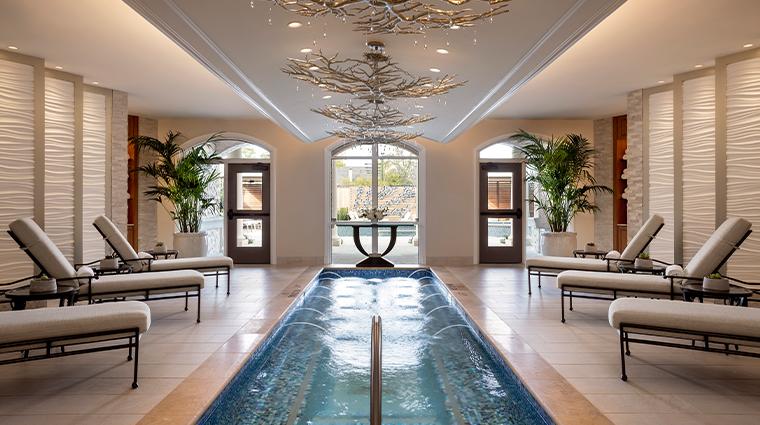 trellis spa reflection pool