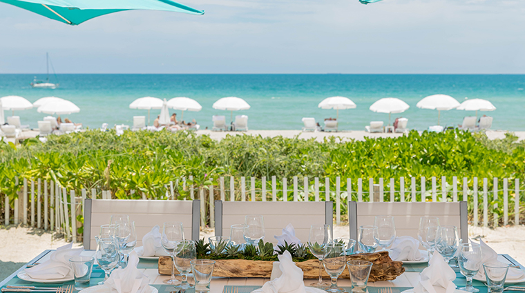 trump international beach resort miami dining table