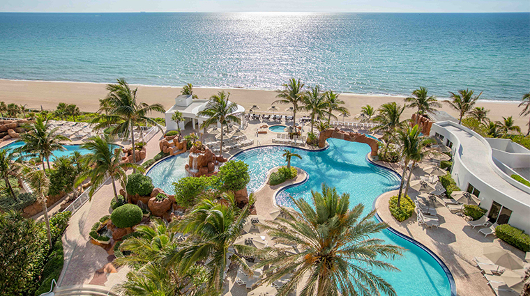 trump international beach resort miami pool