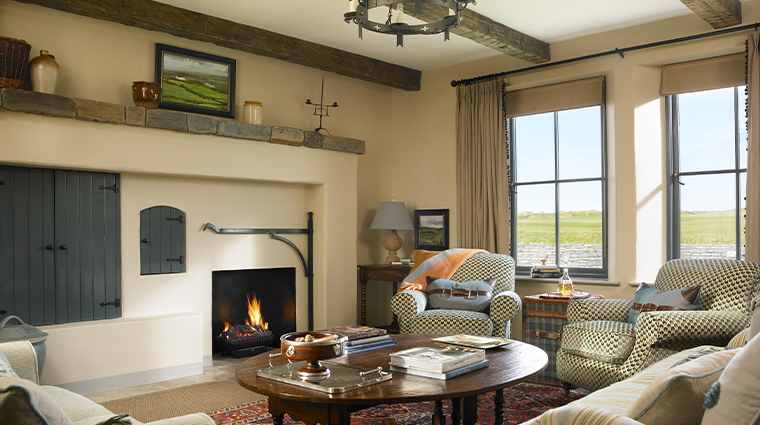 trump international golf links hotel doonbeg classic links cottage living room