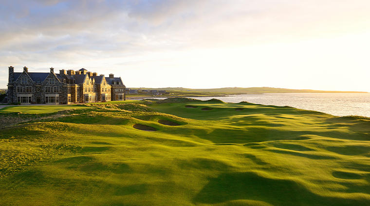 trump international golf links hotel doonbeg exterior