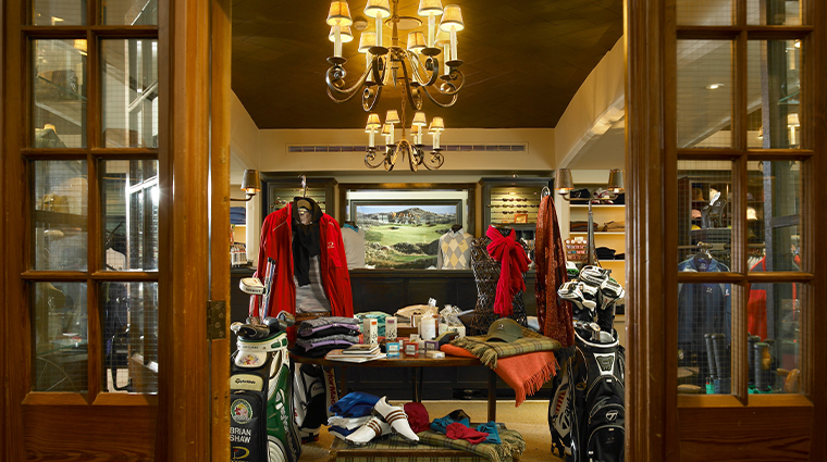 trump international golf links hotel doonbeg pro shop