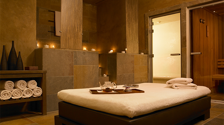 trump international golf links hotel doonbeg spa treatment room