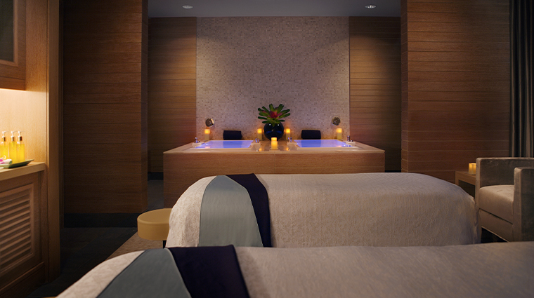 trump international hotel tower chicago couples spa room