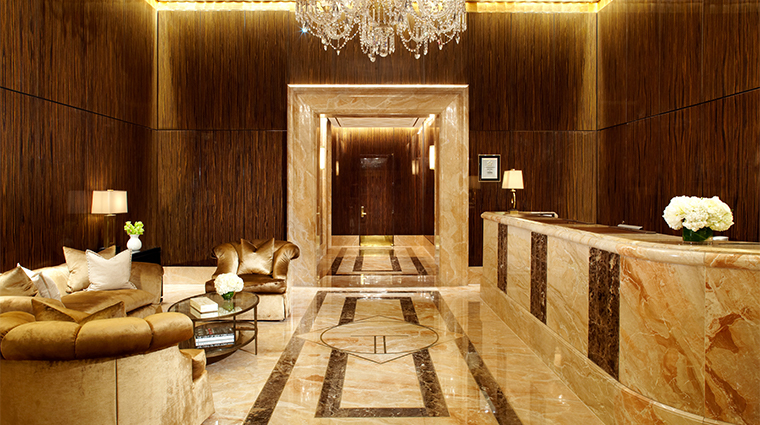 trump international hotel tower new york Lobby
