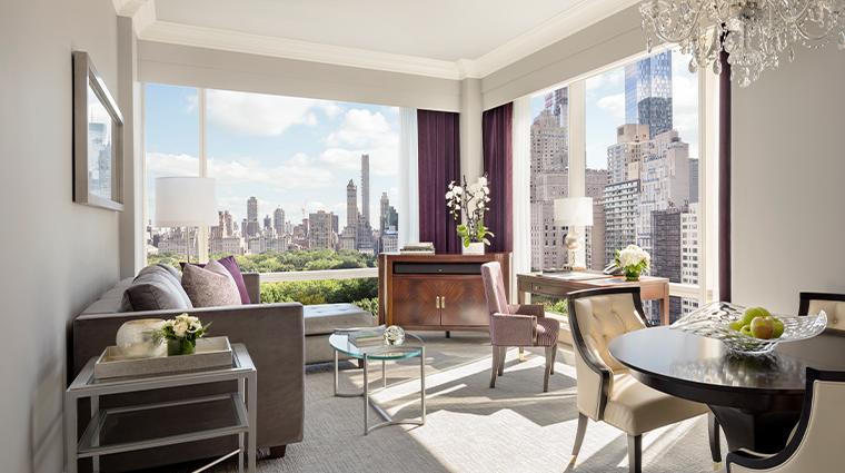 trump international hotel tower new york park view suite