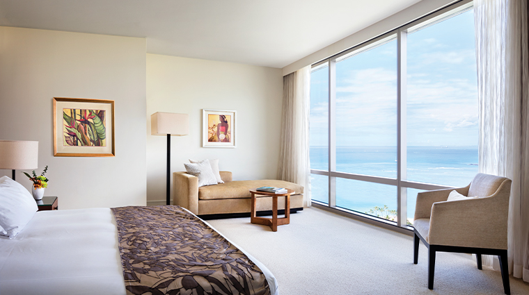 trump international hotel waikiki Ocean Front Suite Bedroom
