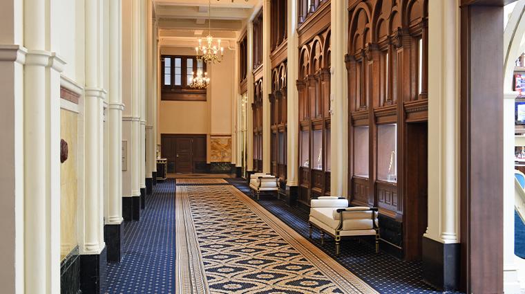 trump international hotel washington dc corridor