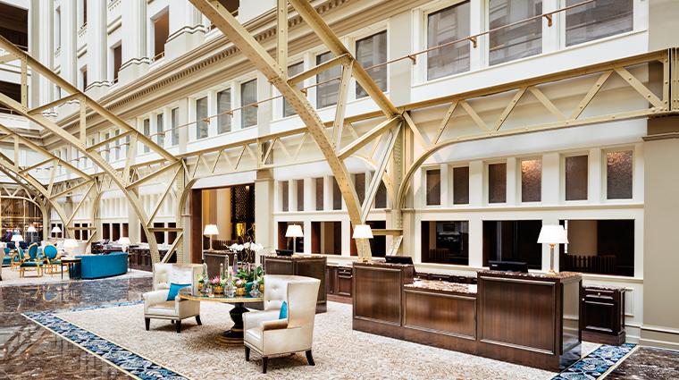 trump international hotel washington dc lobby