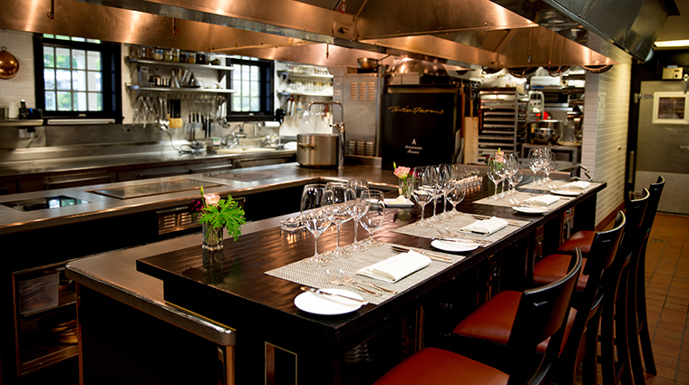 twin farms chefs table