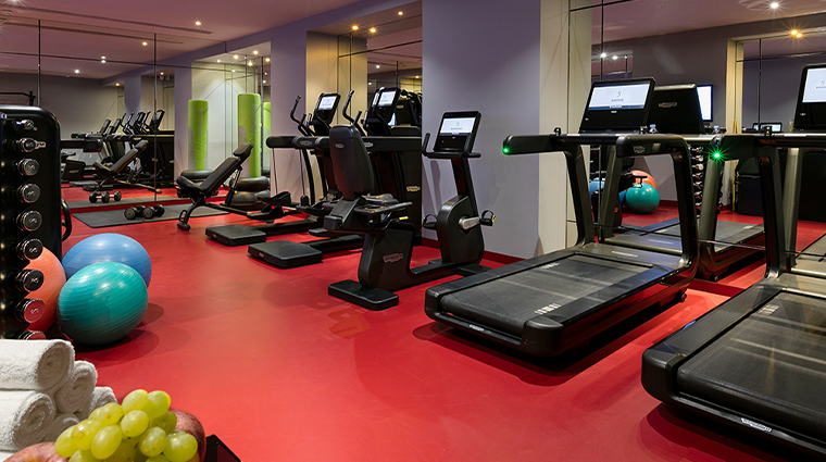spa diane barriere paris fitness center equipment