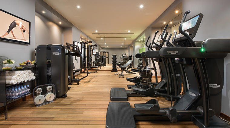 u spa barriere shiseido gym