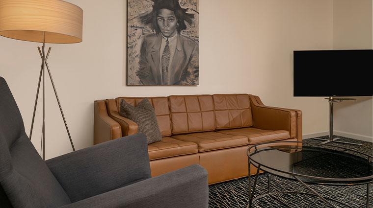 the union station nashville yards guestroom sofa
