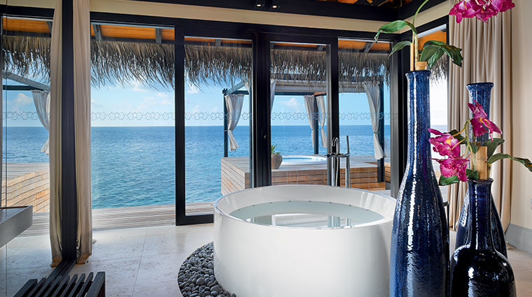 velaa private island ocean pool house bathroom