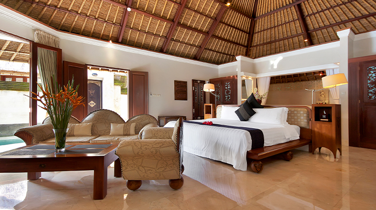 viceroy bali terrace villa bedroom