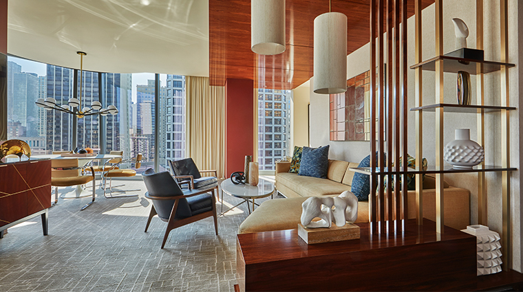 viceroy chicago living room