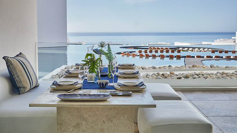 viceroy los cabos suite dinner