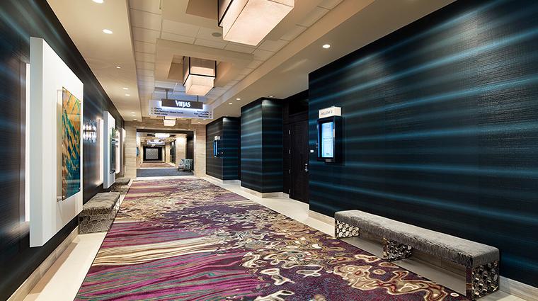 viejas casino resort hallway