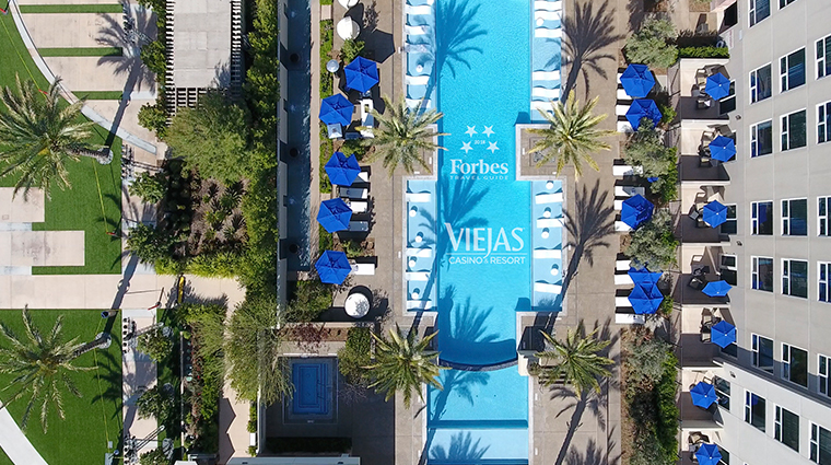 viejas casino resort pool logo