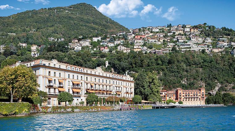 villa deste lago di como from the lake