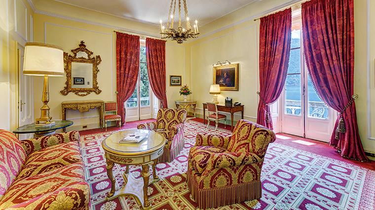 villa deste lago di como presidential suite living room