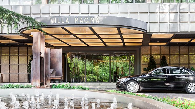villa magna entrance