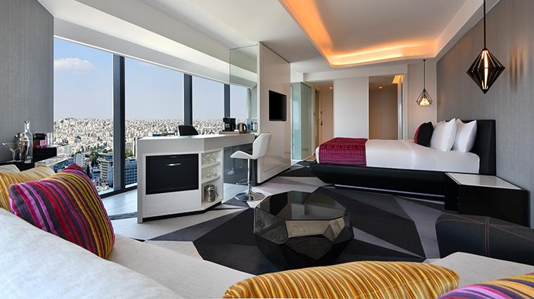 w amman guestroom view