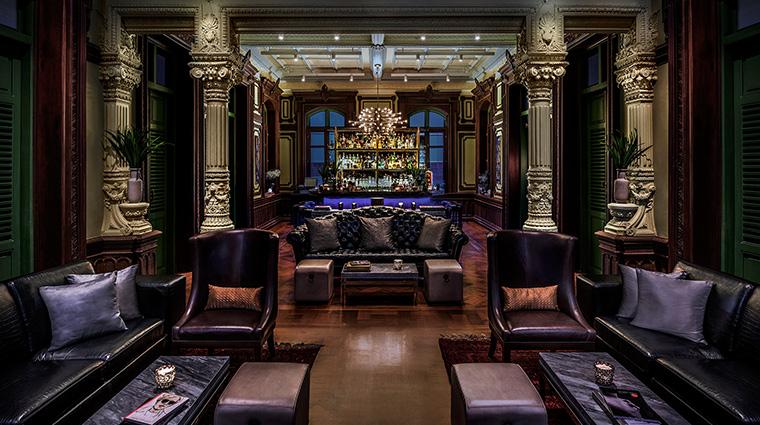 W Bangkok bar couches