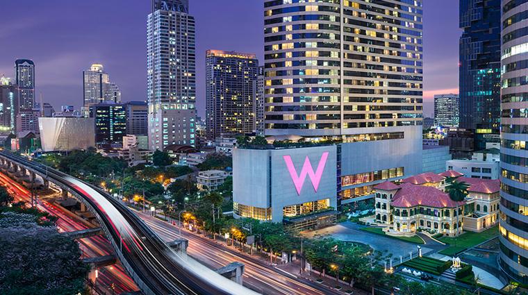 W Bangkok exterior