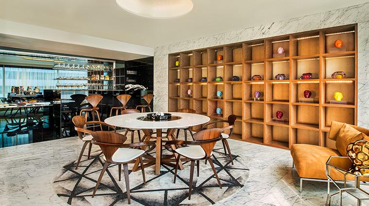 W Bangkok extreme wow suite dining bar