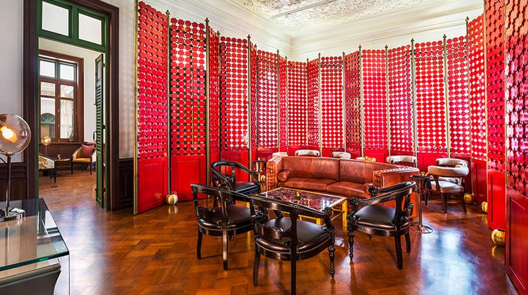 W Bangkok ruby room