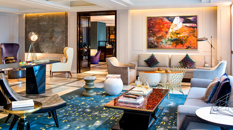 W Guangzhou lounge